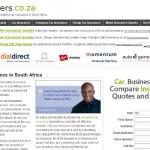carinsurers.co.za lead generation project