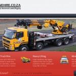 Cranehire.co.za Lead generation project