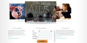 HIV Insurance lead generation project