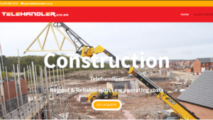 telehandler equipment rental lead generation